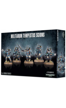 Militarum Tempestus Scions / Tempestus Scions Command Squad