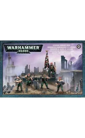 Catachan Command Squad