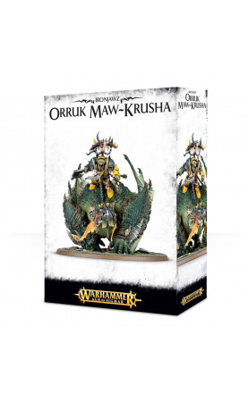 Gordrakk, Fist of Gork / Megaboss sur Maw-krusha