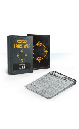 Apocalypse Datasheet Cards: Aeldari (Anglais)
