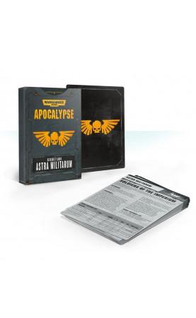 Apocalypse Datasheet Cards: Astra Militarum (Anglais)