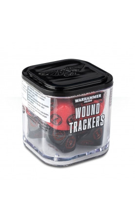 Warhammer 40,000 Wound Trackers [Red]