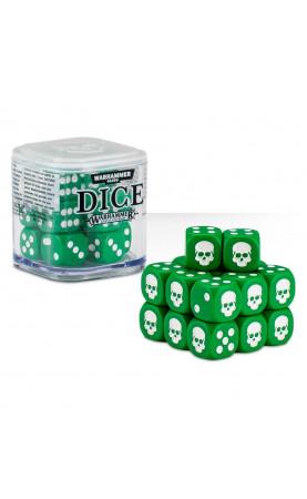 Cube de Dés - Vert