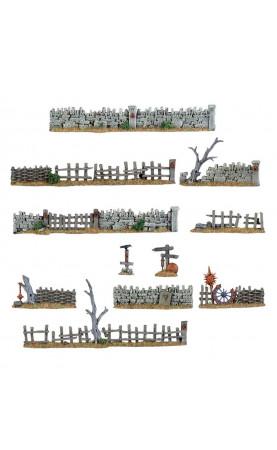 Murs et barrières