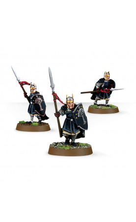 Warriors of Númenor avec lances