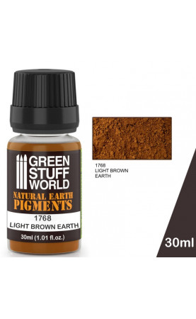 Pigment LIGHT BROWN EARTH