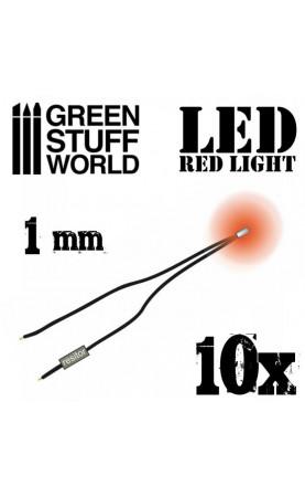 Lumières LED Rouge - 1mm