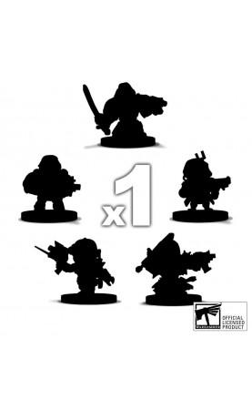 Figurines Chibi Warhammer...