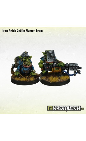 Iron Reich Goblin Flamer Team