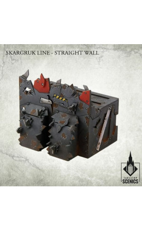 Skargruk Line - Straight wall