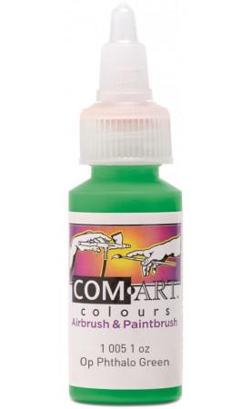 Com Art Colours Acrylic Opaque Phthalo Green 1 oz / 28ml