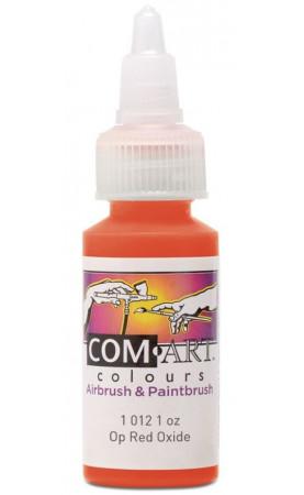Com Art Colours Acrylic Opaque Red Oxide 1 oz / 28ml