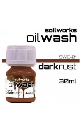 DARK RUST - SOIL WORKS - OIL WASHES