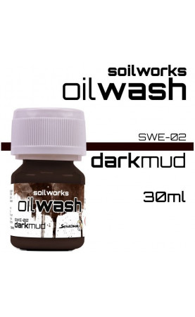 DARK MUD - SOIL WORKS - OIL...