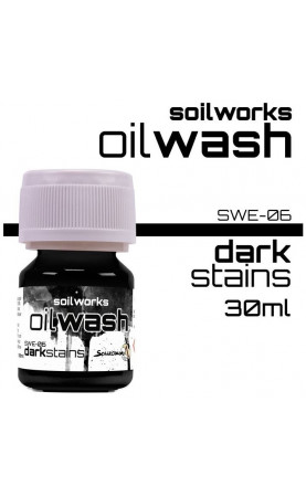 DARK STAINS - SOIL WORKS -...