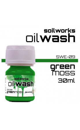 GREEN MOSS - SOIL WORKS - OIL WASHES