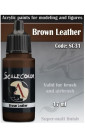 BROWN LEATHER - SCALECOLOR RANGE