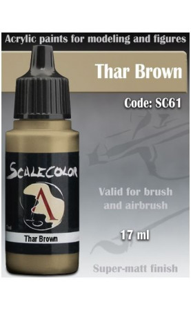 THAR BROWN - SCALECOLOR RANGE