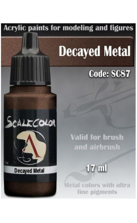 DECAYED METAL - METAL N ALCHEMY RANGE