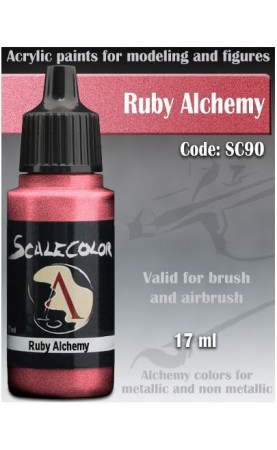 RUBY ALCHEMY - METAL N ALCHEMY RANGE