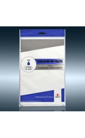 50 x feuilles de papier d'hydratation Studio XL