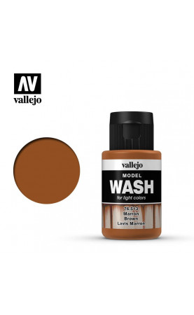 [Model Wash] Brown Wash - 76.513