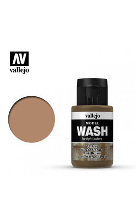[Model Wash] Dark Brown Wash - 76.514
