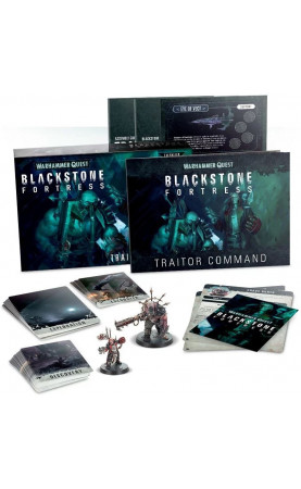 Blackstone Fortress: Traitor Command (Anglais)