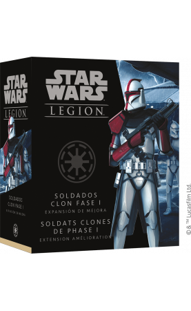 Star Wars Légion : Soldats Clones de Phase I Upgrade