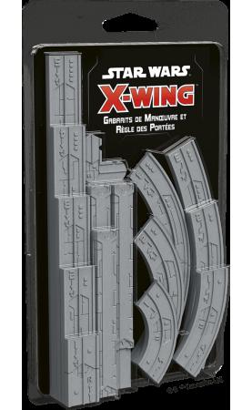 Star Wars X-Wing 2.0 : Gabarits de Manœuvre & Règle des...