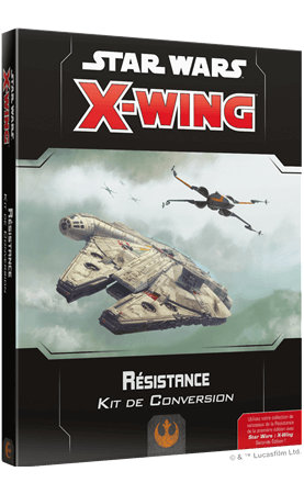 Star Wars X-Wing 2.0 : Kit de Conversion Résistance