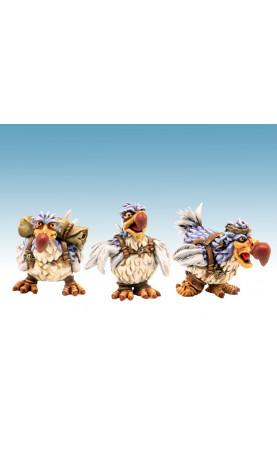 Dodo Nouvelle Version 3 figurines