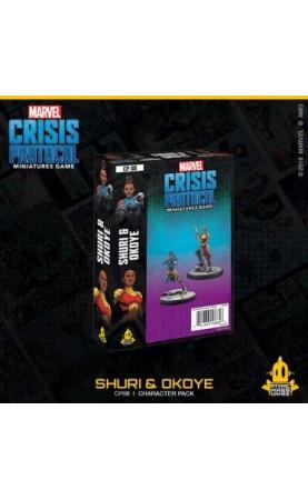 Marvel Crisis Protocol : Shuri and Oyoke - EN
