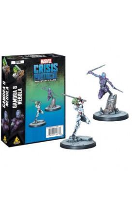 Marvel Crisis Protocol : Gamora and Nebula - EN