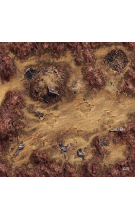 FFG - Star Wars Legion: Desert Junkyard Gamemat