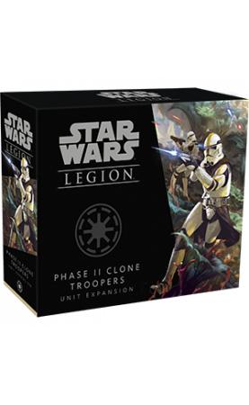 Star Wars Légion : Soldats Clone de Phase II