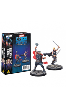 Marvel Crisis Protocol : CP11 Thor and Valkyrie - En