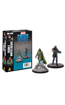 Marvel Crisis Protocol : Vision and Winter Soldier - EN