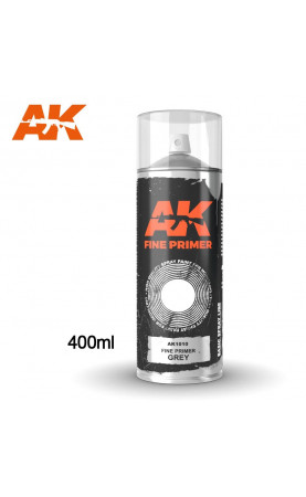AK1010 - FINE PRIMER GREY SPRAY