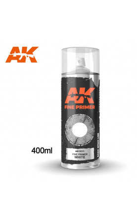 AK1011 - FINE PRIMER WHITE SPRAY