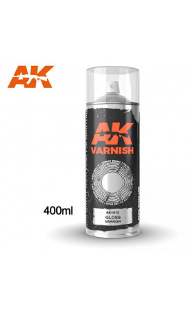 AK1012 - GLOSS VARNISH SPRAY