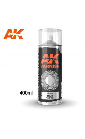 AK1013 - MATT VARNISH SPRAY