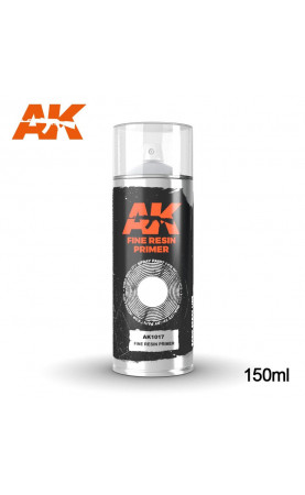 AK1017 - FINE RESIN PRIMER SPRAY