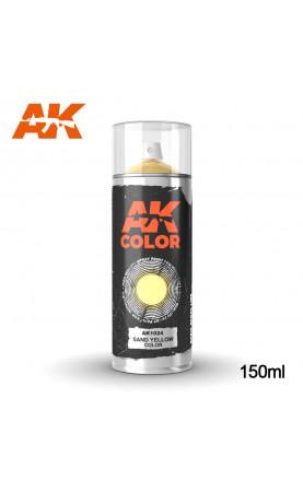 AK1024 - SAND YELLOW COLOR SPRAY