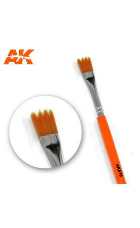 AK576 - SAW SHAPE weathering brush