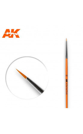 AK600 - 5/0 Round Brush Synthetic