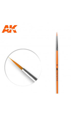 AK602 - 2/0 Round Brush. Synthetic