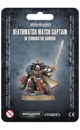 Deathwatch Terminator Captain | Watch captain in...