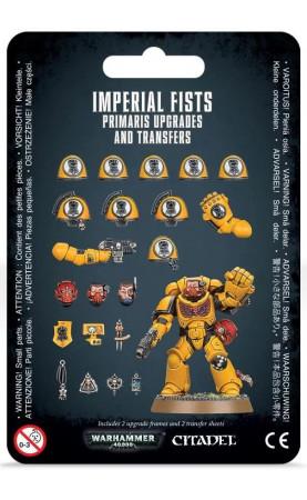 Améliorations et décalcomanies Imperial Fists Primaris