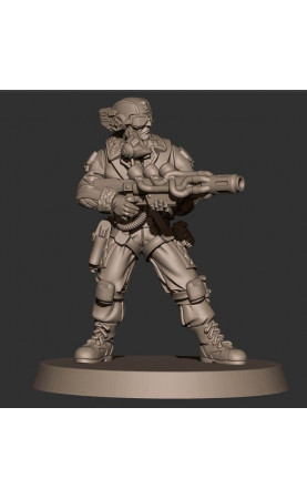 Mortian Drop Trooper 5 Man Special Weapons Melta 1